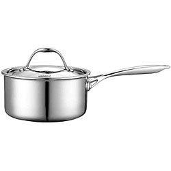Cooks Standard 1.5-quart Multi-ply Clad Stainless Steel Saucepan