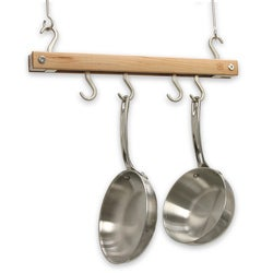 J.K. Adams Natural Mini Bar Pot Rack