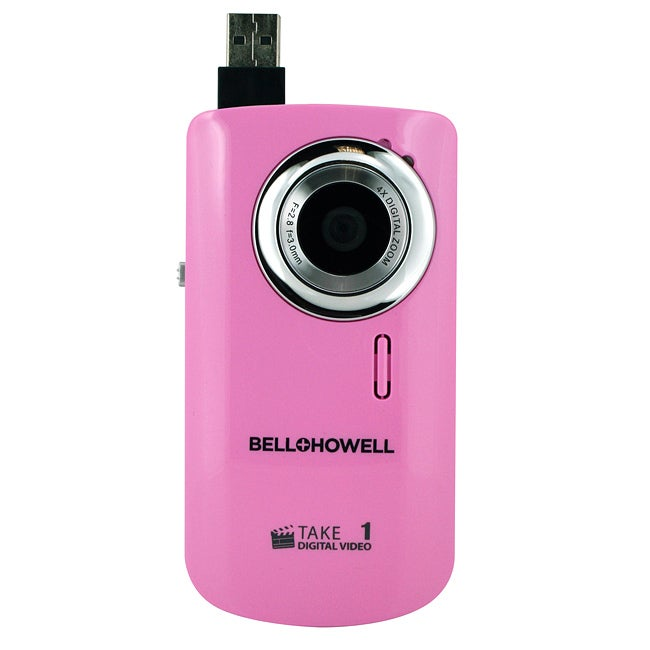 Bell + Howell Take 1 Video Camera with Flip