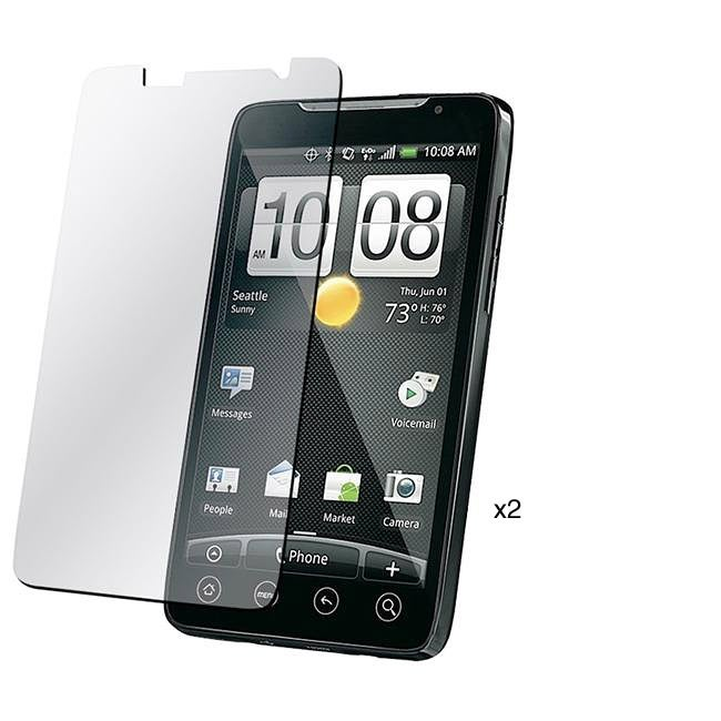 INSTEN Clear Screen Protector for HTC EVO 4G (Pack of 2)