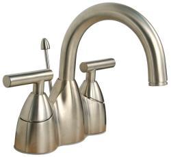 Price Pfister Contempra Brushed Nickel Centerset Bathroom Faucet