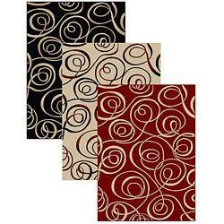Virginia Ribbon Abstract Rug (3'3 x 4'11)