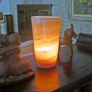 Alabaster Flute Lamp (Egypt)