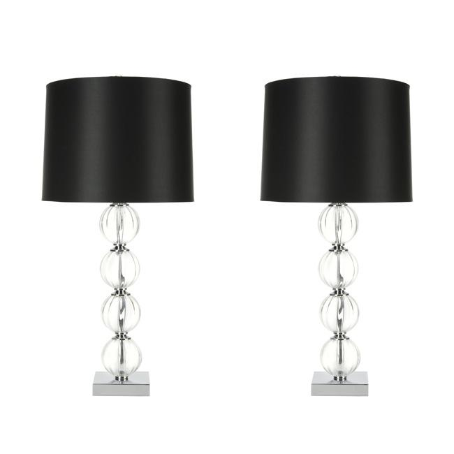 Safavieh Indoor 1-light Glass Sphere Table Lamps (Set of 2)