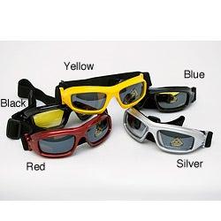 Sun and Snow Polyurethane-framed Goggles with Polycarbon Lenses