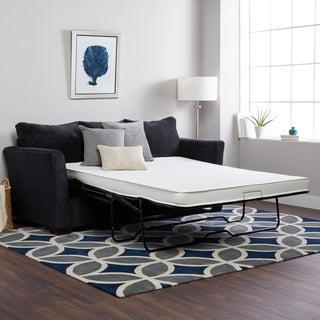 Select Luxury Reversible 4-inch Twin-size Foam Sofa Bed Sleeper Mattress