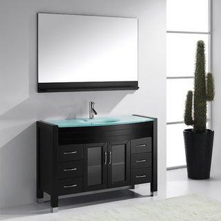 Virtu USA Ava 48-inch Single Sink Bathroom Vanity Set