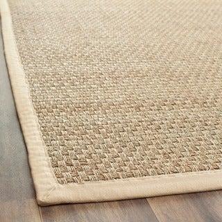 Safavieh Hand-woven Sisal Natural/ Beige Seagrass Runner (2' 6 x 4')