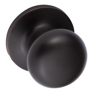 Sure-Loc Vintage Bronze Mushroom-shaped Dummy Door Knob