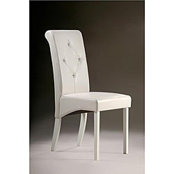 Warehouse of Tiffany White Dining Chairs (Set of 8)