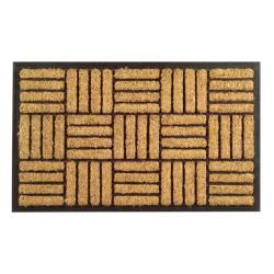 Criss Cross Coir Door Mat (30 x 18)