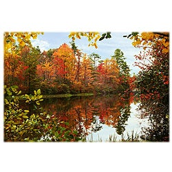 Orange Cat Art 'Hanging Rock Lake' Photographic Print