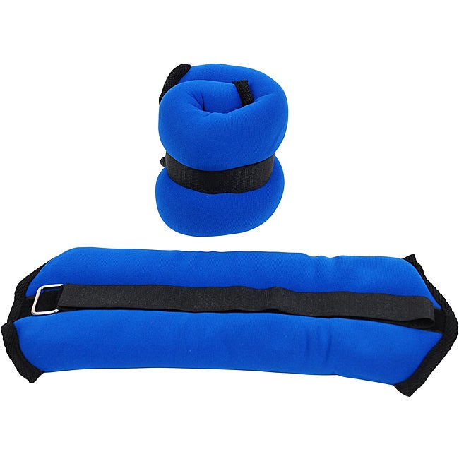 Valor Fitness 2-pound Blue Ankle Weight Pair