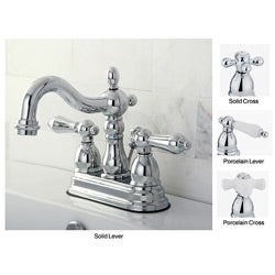 Heritage Chrome 4 Inch Center Bathroom Faucet