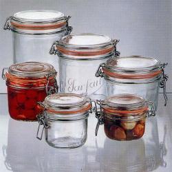 Le Parfait 7-oz Gasket Canning Jars (Pack of 6)