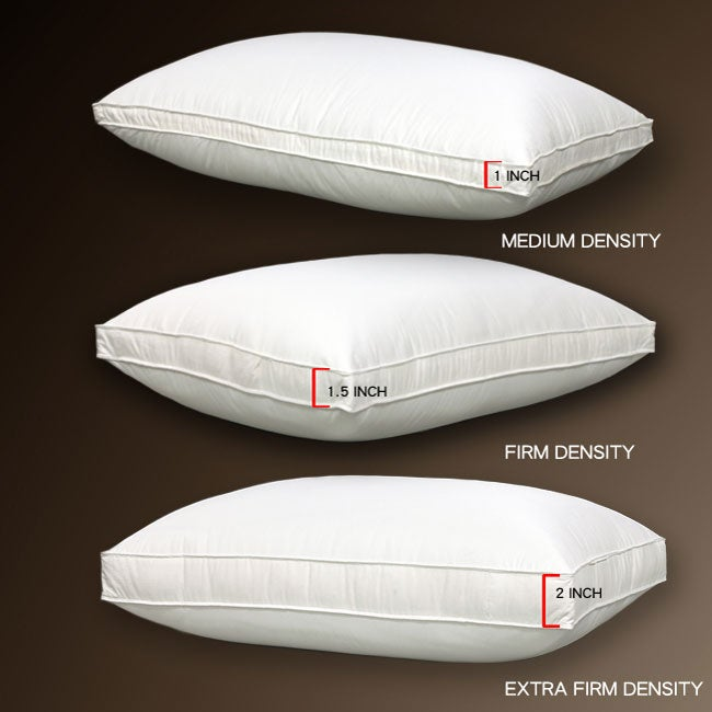 Three-density 233 Thread Count Cambric Cotton Outer Down Pillow
