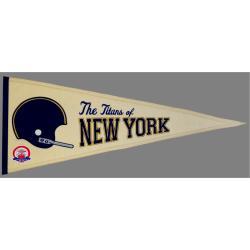 New York Jets AFL Throwback Wool Pennant