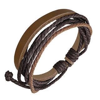 Genuine Leather 'Journey' Bracelet