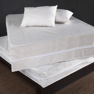 Performance Textiles Bed Bug & Dust Mite Control Water Resistant Polypropylene Complete Bed Protector Set