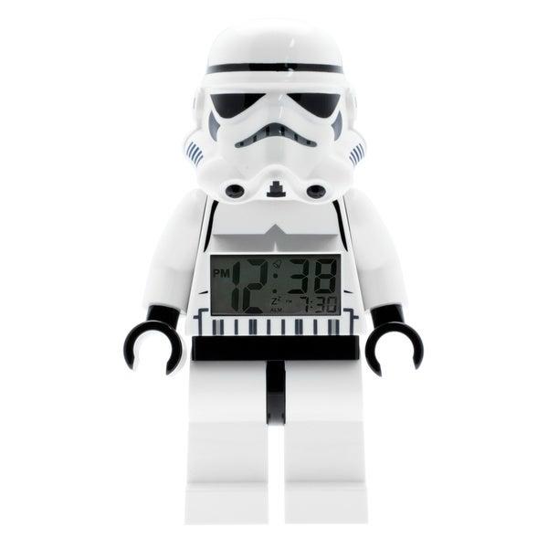 LEGO Star Wars Storm Trooper Figurine Plastic Digital Alarm-clock