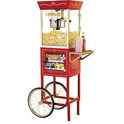 Nostalgia Electrics Vintage Popcorn and Concession Cart