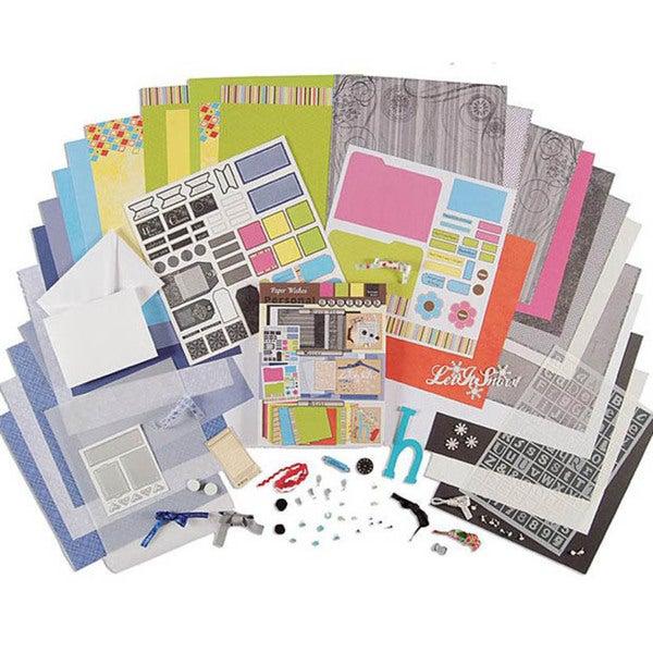 Personal Shopper January 2007 Winter & Bright Scrapbooking Set