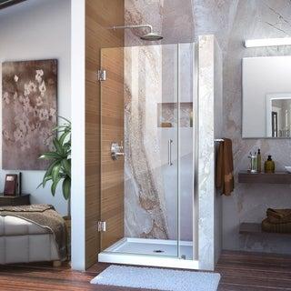 DreamLine Unidoor 29-33x72-inch Frameless Hinged Shower Door