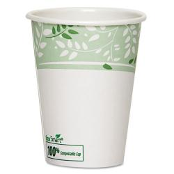 Dixie EcoSmart 12 oz PLA-lined Paper Hot Cups