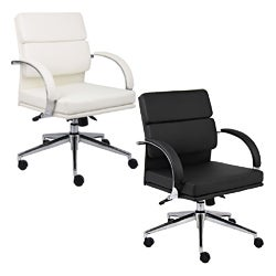Boss Contemporary Mid-back Executive Chair