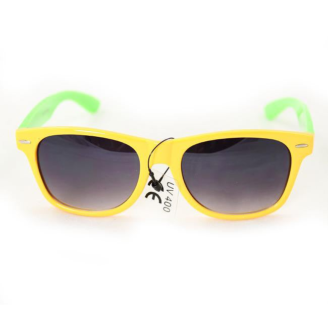 Women's 200 Yellow/Green Fashion Sunglasses