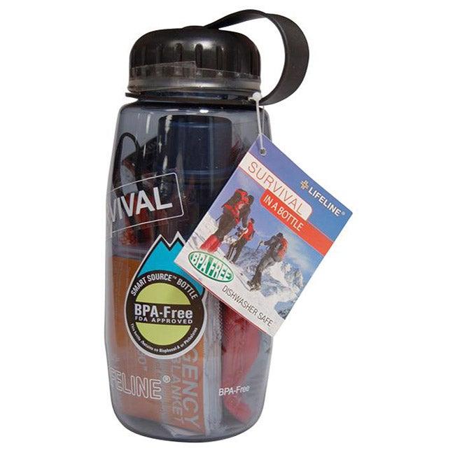 BPA-free 26-oz Survival in a Bottle