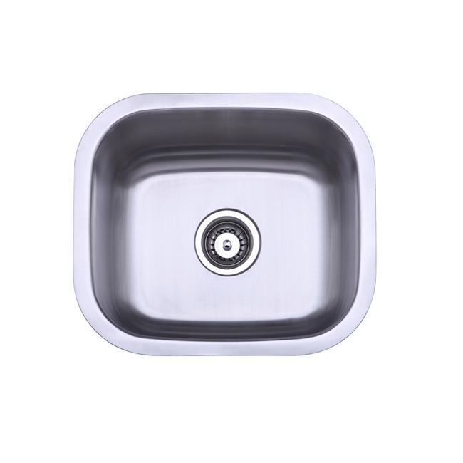 16 Undermount Sink : Stainless Steel 16-inch Undermount Bar Sink - Overstock Shopping ...