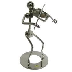 Violist Metal Figurines