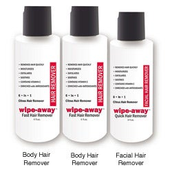 As Seen on TV Wipe Away Fast Hair Removal System (Pack of 3)