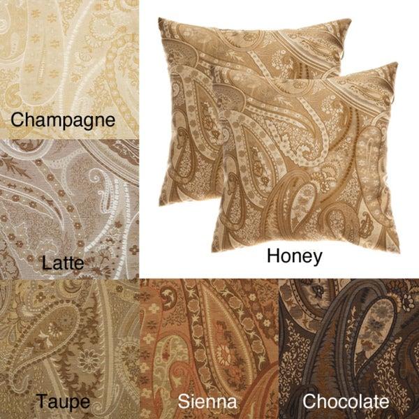 Geneva 18-inch Decorative Pillows (Set of 2)