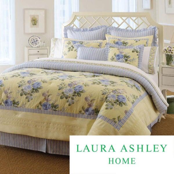 Laura Ashley Caroline Full-size Comforter Set