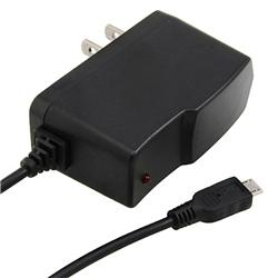 BasAcc Black Micro USB Travel Charger for BlackBerry 9300 Curve 3G