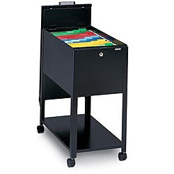 Mayline Mobilizers Heavy-gauge Steel Letter-sized Wheeled File Cabinet