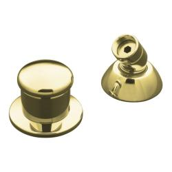 Kohler K-8549-PB Vibrant Polished Brass Two-Way Diverter Valve And Handshower Hose Guide