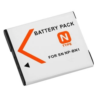 INSTEN Sony NP-BN1-compatible White High-capacity Rechargeable Li-ion Battery