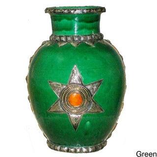 Clay Kasbah Collector's Vase (Morocco)