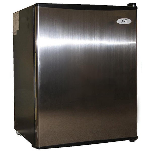 Stainless Steel 2.5-cubic-foot Energy Star Compact Refrigerator