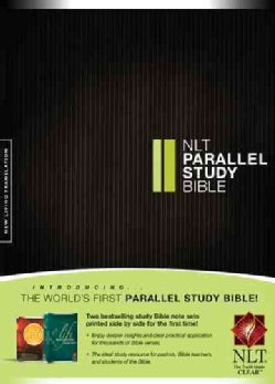 NLT Parallel Study Bible: New Living Translation (Hardcover)
