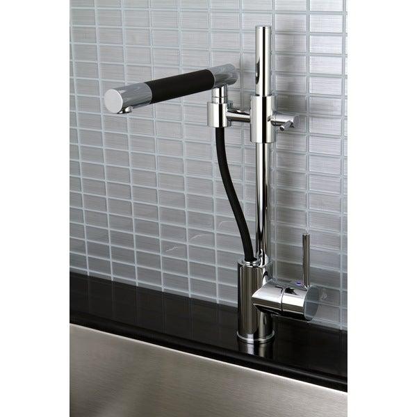 Cusinxel 19-inch Chrome Kitchen Faucet