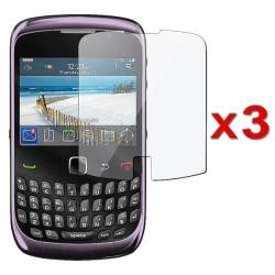 Screen Protector for BlackBerry Curve 3G/ 9300/ 9330 (Pack of 3)