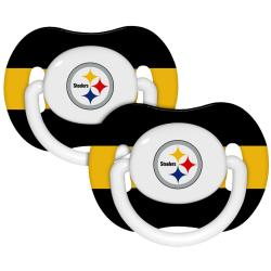 Pittsburgh Steelers Pacifiers (Pack of 2)