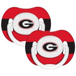 Georgia Bulldogs Pacifiers (Pack of 2)