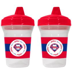 Philadelphia Phillies Sippy Cups (Pack of 2)