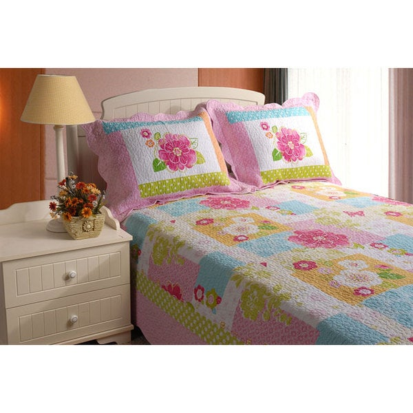Greenland Home Fashions Adora Twin-size 2-piece Quilt Set