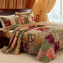 Antique Chic Full-size 3-piece Bedspread Set
